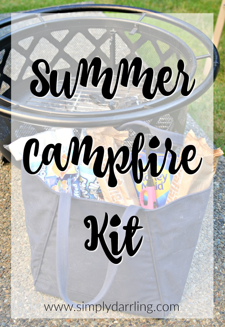 Summer Campfire Kit Featuring Duraflame