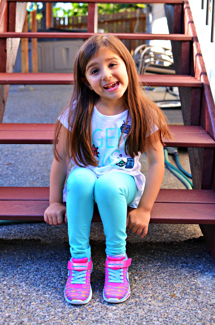 Back to School tee and jeggings from Kohl's
