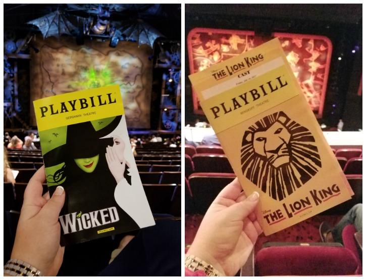 Broadway Playbills NYC