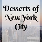 Desserts of New York City