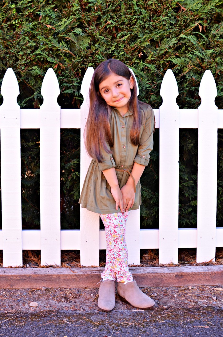 Back to School Tunic Leggings Outfit Kohl's