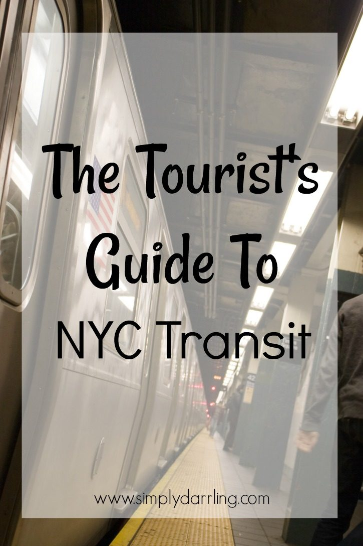 Tourist's Guide to NYC Transit