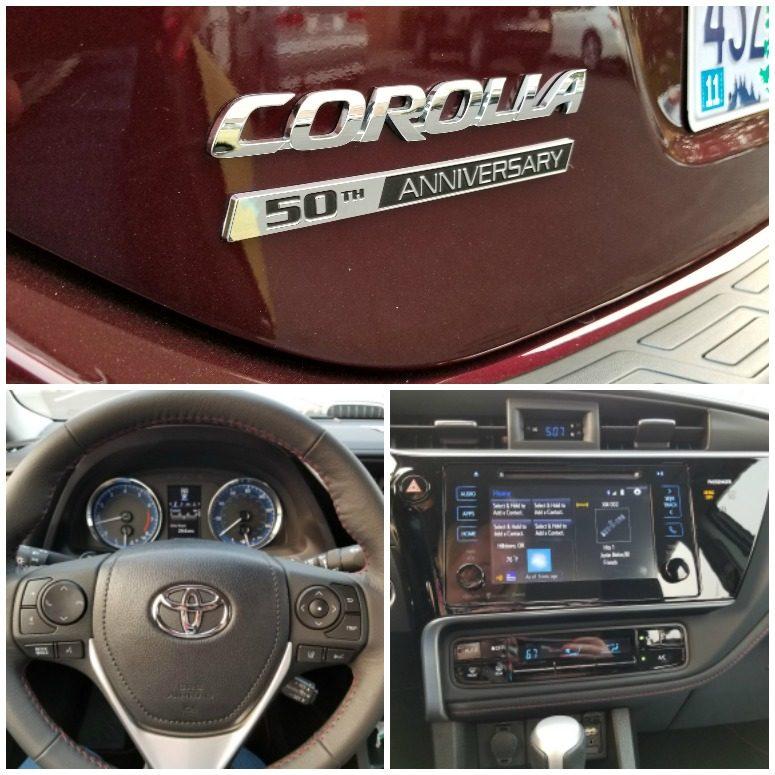 50th Anniversary Toyota Corolla