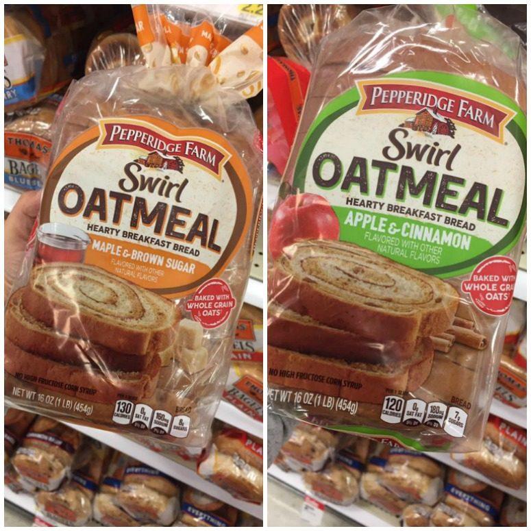 Pepperidge Farm Oatmeal Swirl Bread