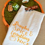 Pumpkin Spice & Everything Nice Kitchen Tea Towel