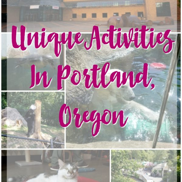 Unique Activities In Portland, Oregon