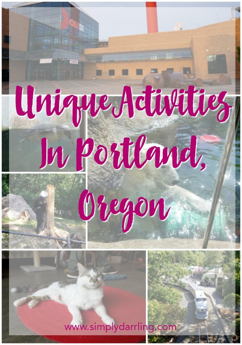 Unique Activities In Portland, Oregon - Simply {Darr}ling