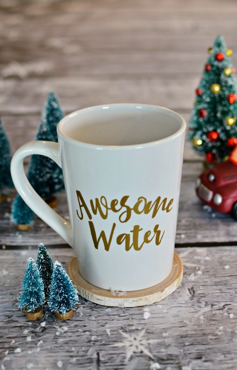 Awesome Water Coffee Mug - Free SVG & Stuido3 File