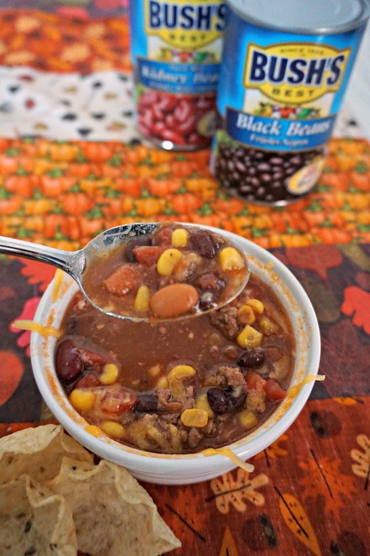 Bush's Best Beans - Beef Taco Soup