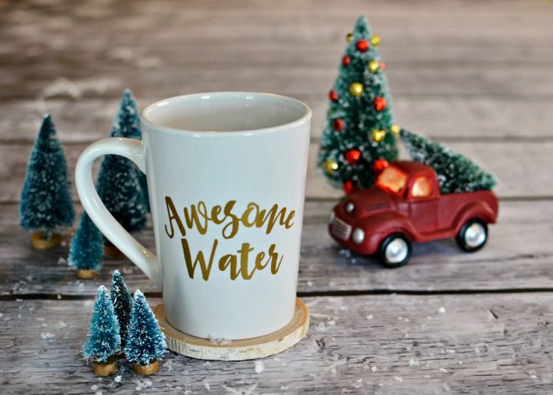 Awesome Water Coffee Mug - Free SVG & Stuido3 File
