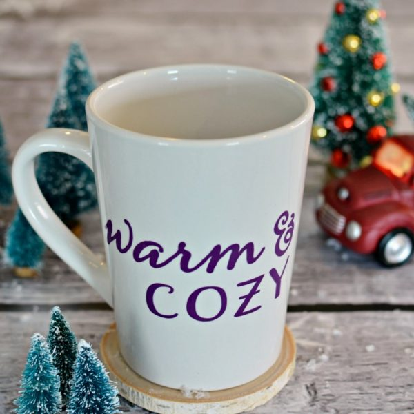 Warm & Cozy Coffee Mug – With Free Cut File