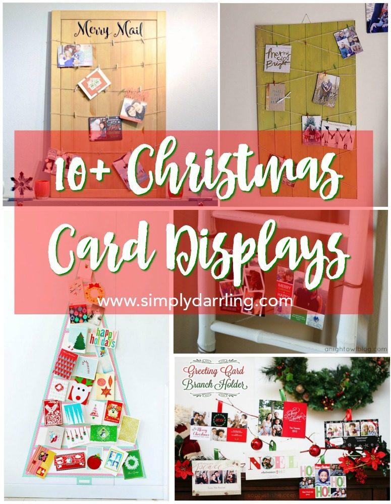 10+ Christmas Card Displays - Simply {Darr}ling