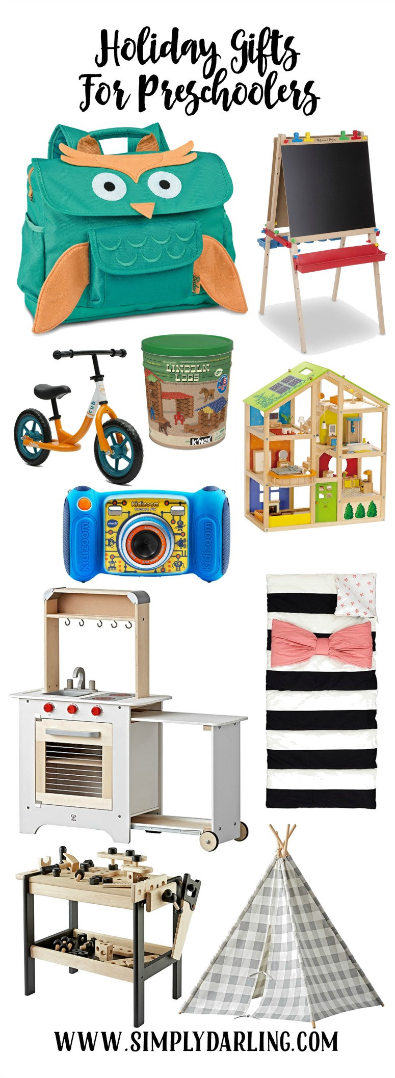 Holiday Gift Ideas for Preschoolers