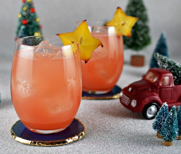 Santa's Tropical Vacation Cocktail