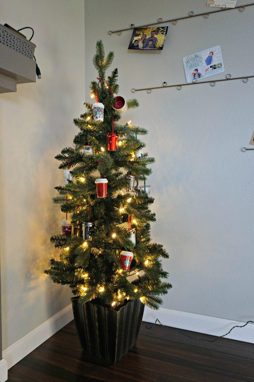 Starbucks Holiday Ornament Tree