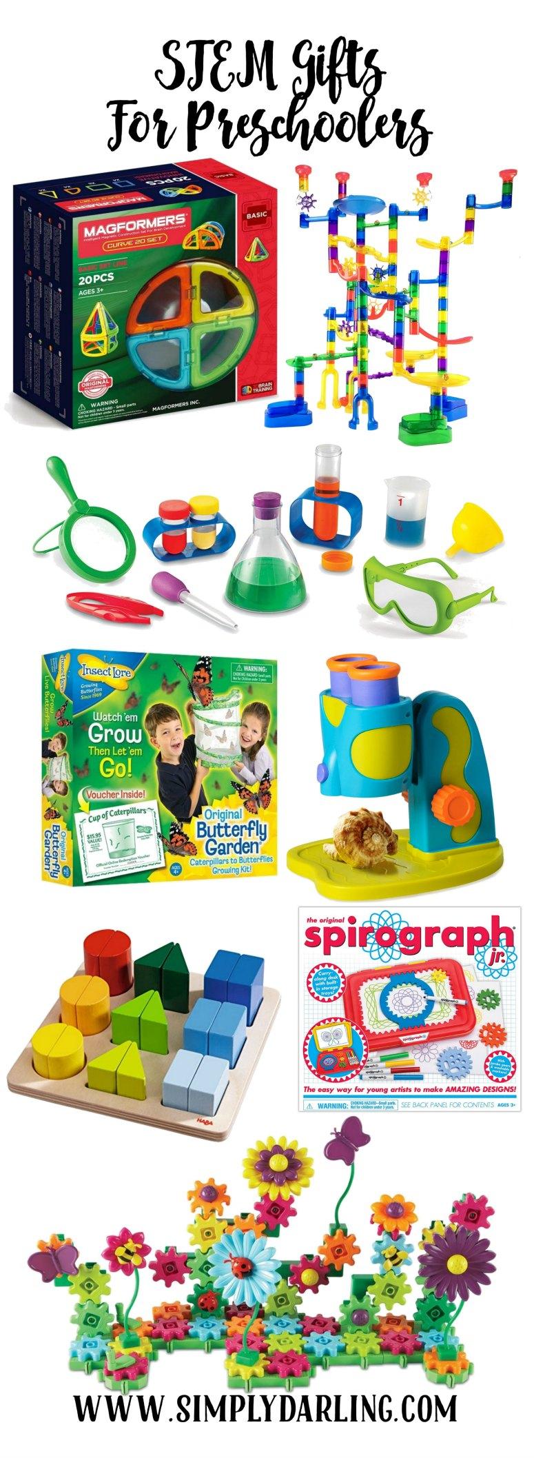 STEM Gifts for Preschoolers