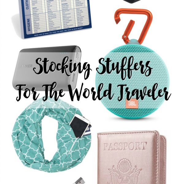 Stocking Stuffers For The World Traveler