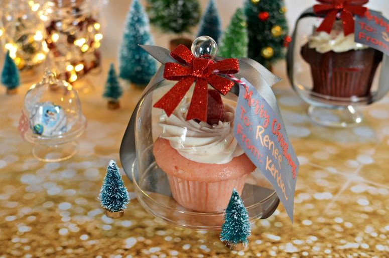 Glass Dome Cupcake Holders