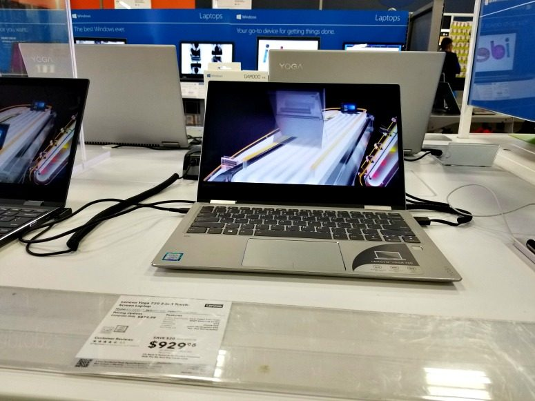 Lenovo Yoga 720 at Best Buy