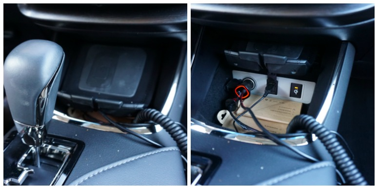 Qi Charger in Toyota Avalon