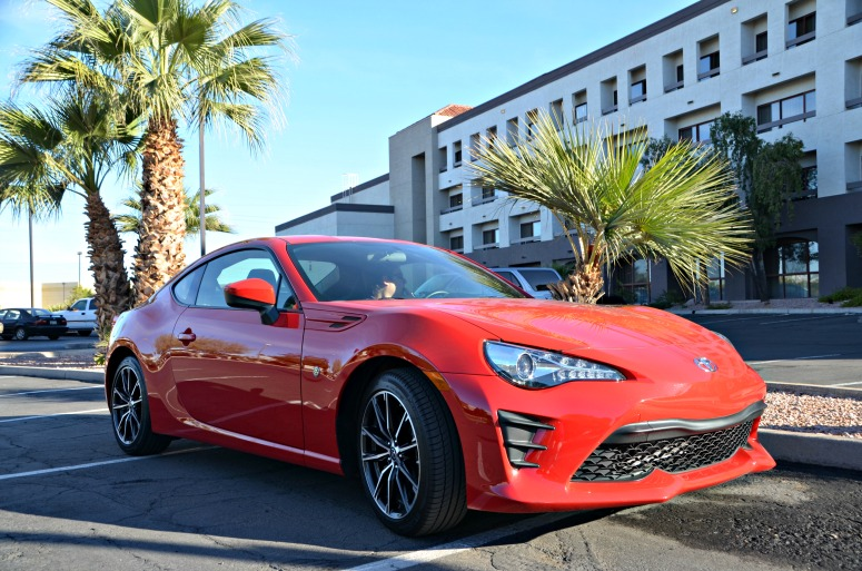 Red Toyota 86 Sports Car