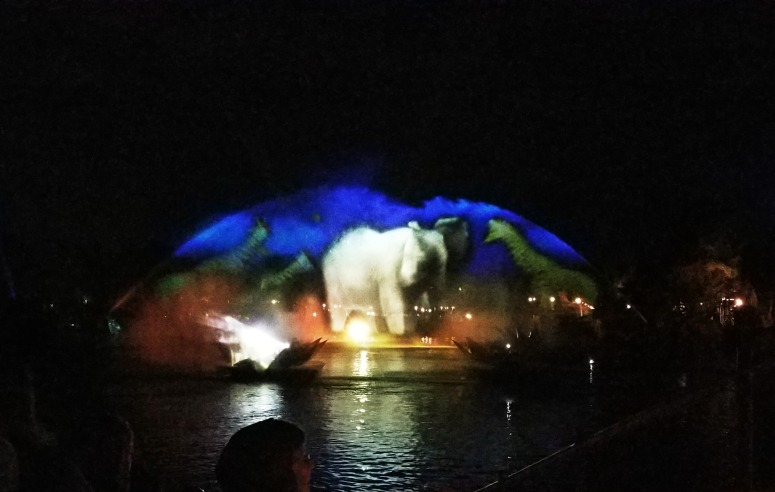 Animal Kingdom Rivers of Light Show