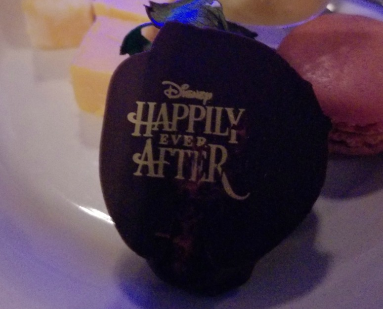 Disney's Happily Ever After Chocolate Strawberry