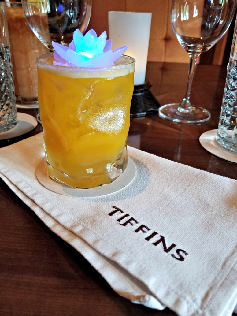 Annapurna Zing Cocktail at Tiffins, Animal Kingdom