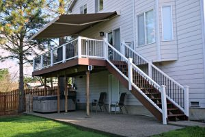Trex Deck and Sunsetter Awning