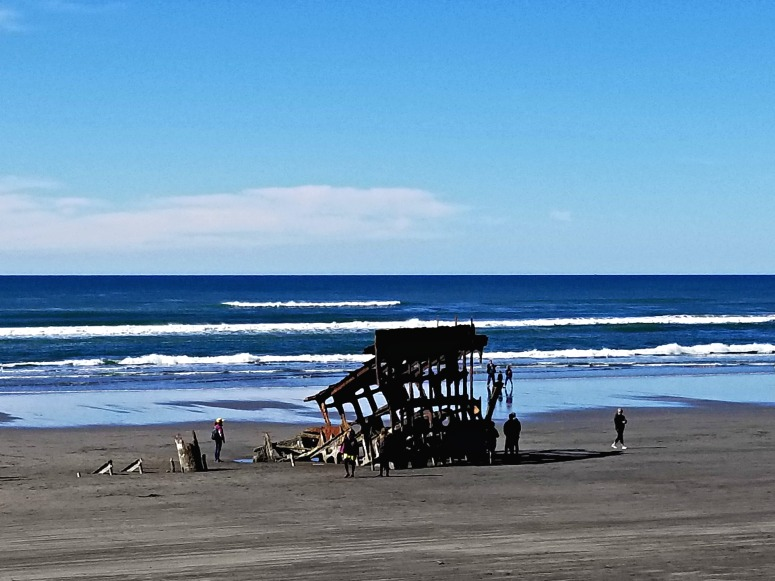 Fort Stevens Oregon Shipwreck