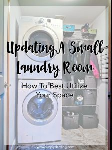 Updating A Small Laundry Room