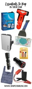 Essentials you should keep in your car