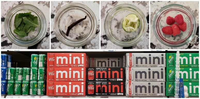 Coke Mini Can Infusions