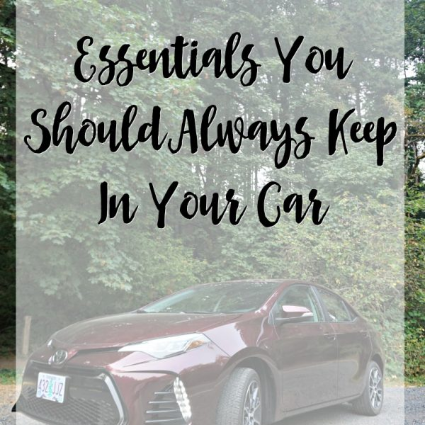 Essentials You Should Always Keep In Your Car
