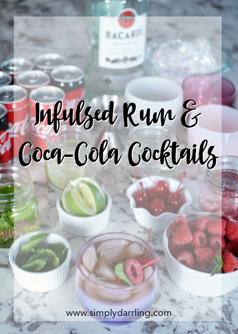 Infused Rum with Coca-Cola