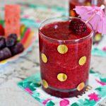 Watermelon & Blackberry Summer Slushie