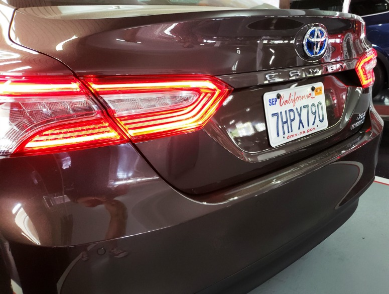 2018 Toyota Camry Rear