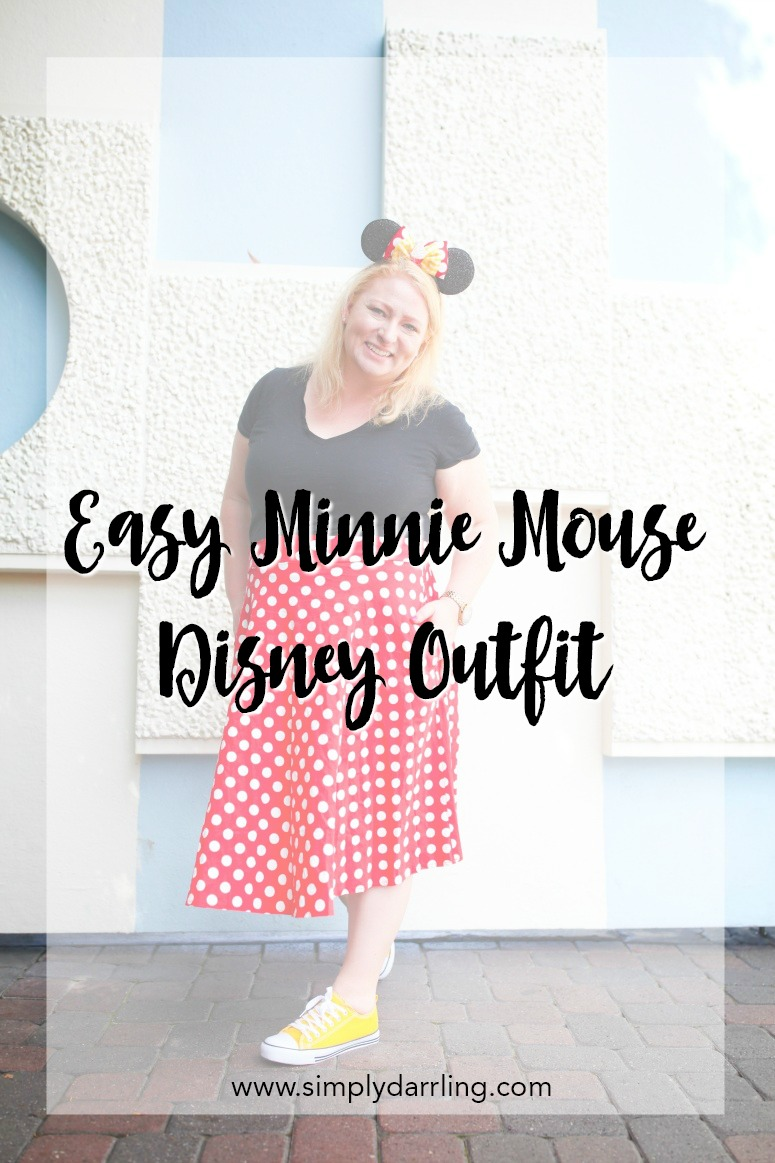 Easy Minnie Mouse Disneyland Outfit