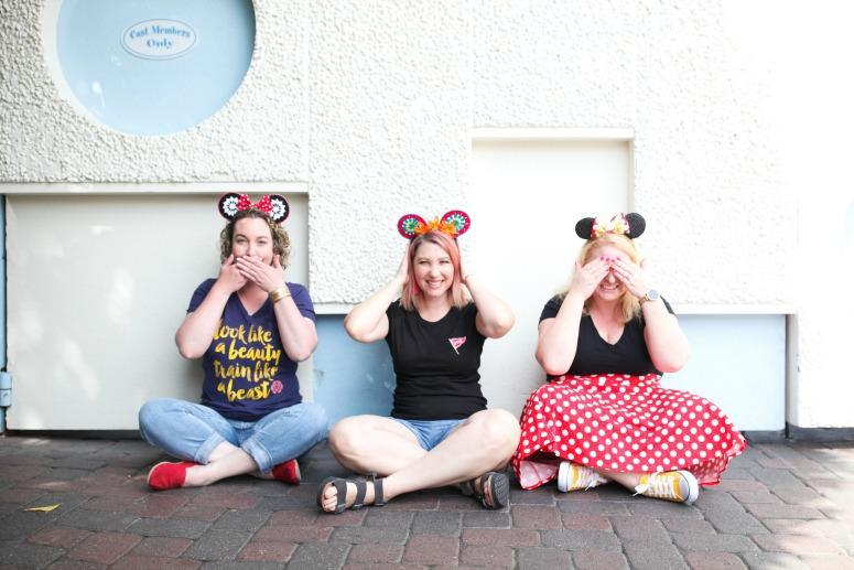Girls Weekend At Disneyland - A Small World Wall