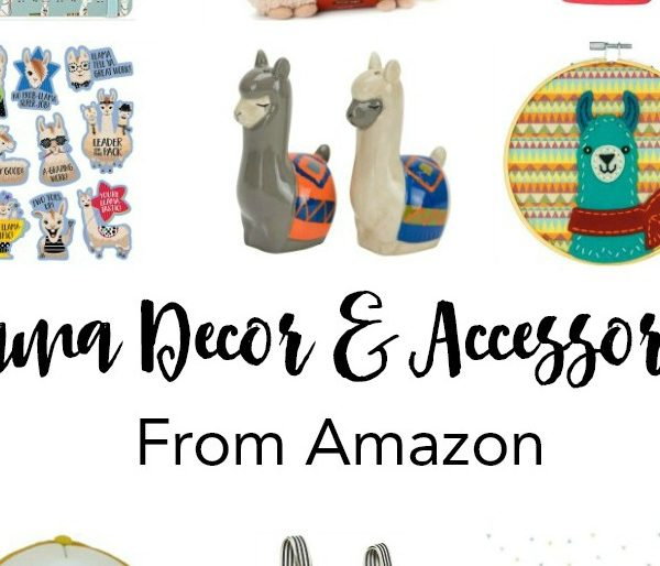 Llama Decor & Accessories From Amazon