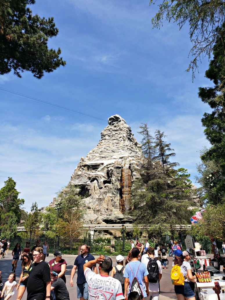 Matterhorn Ride at Disneyland