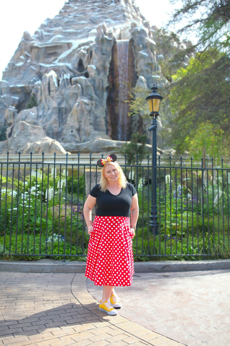 Minnie Mouse Skirt Outfit Disneyland