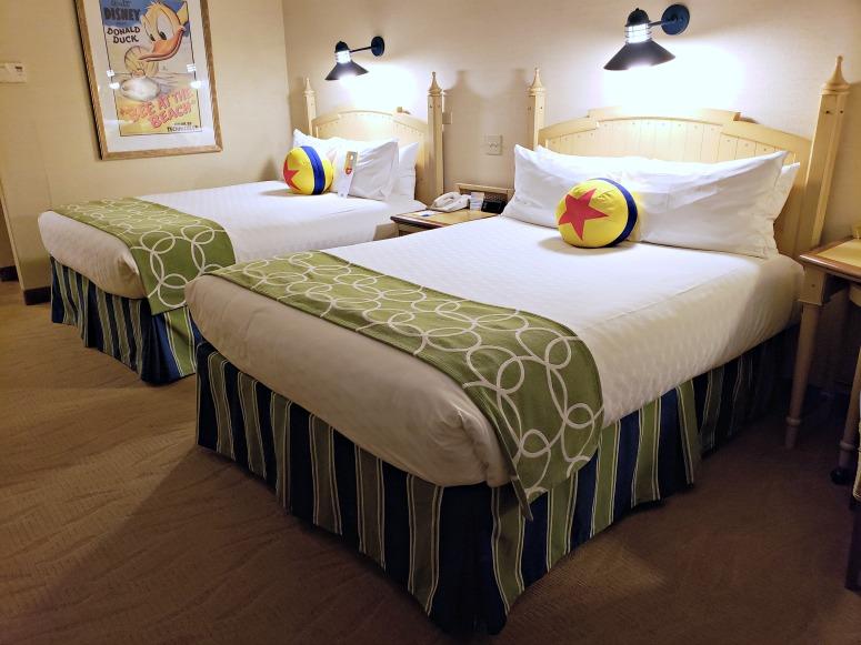 Paradise Pier Hotel Room for Pixar Fest