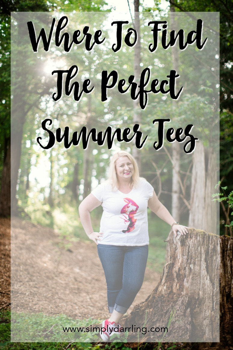 Where to find the perfect summer tees