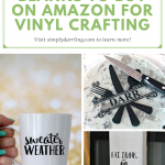 Blanks to Buy on Amazon for Vinyl Crafting