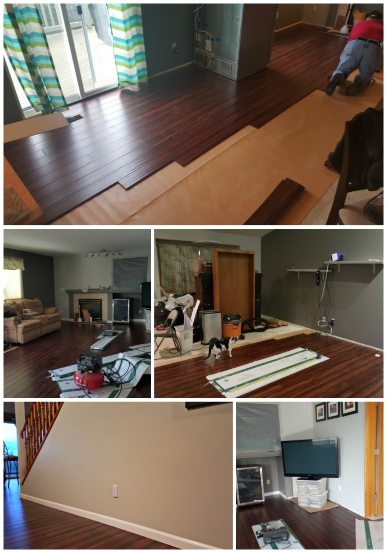 Installation Process for Bamboo Floors