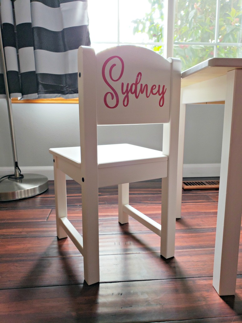 IKEA Hack: SUNDVIK Kids Table & Chair Set