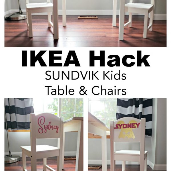 IKEA Hack: SUNDVIK Kid's Table & Chairs