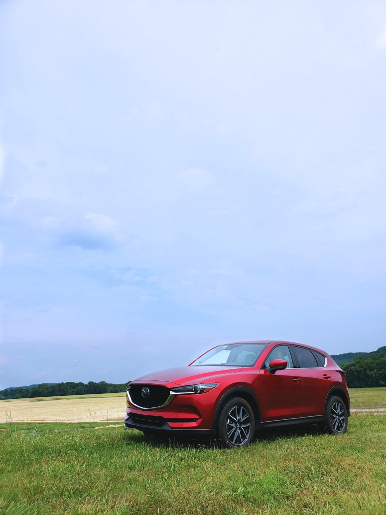 Mazda CX5 with Red Exterior