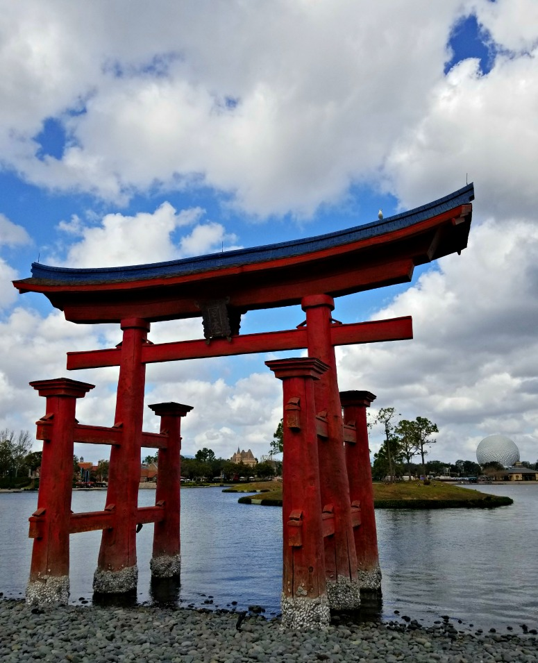 World Showcase Japan - Walt Disney World Photo Spots